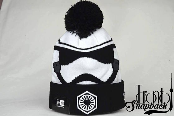Image of STAR WARS GALACTIC BIGGIE STORM TROOPER VII BEANIE