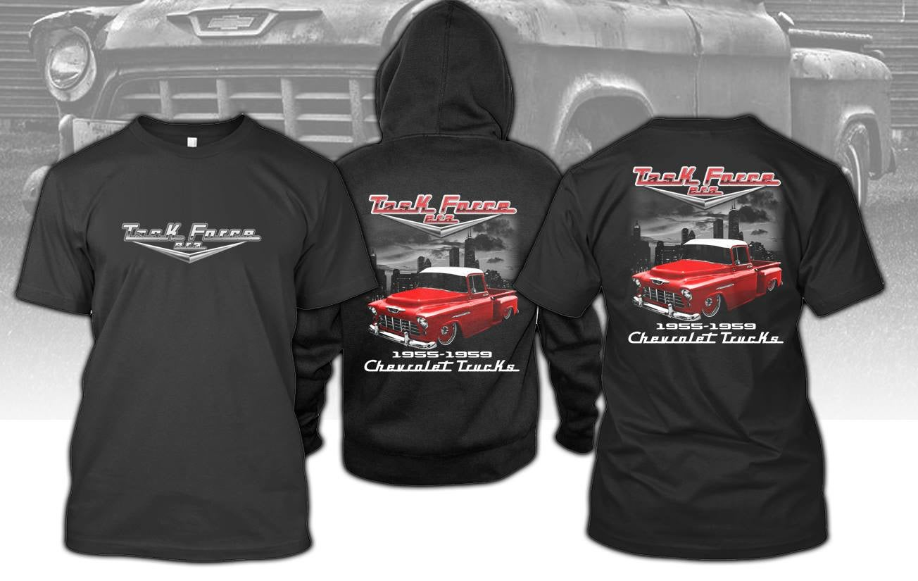 Image of 1955 Chevrolet Truck T-shirt