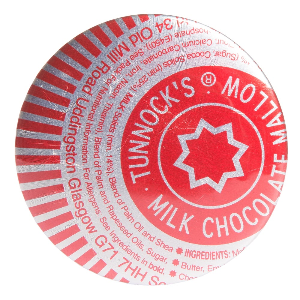 Image of Tunnocks Teacake Pocket Mirror