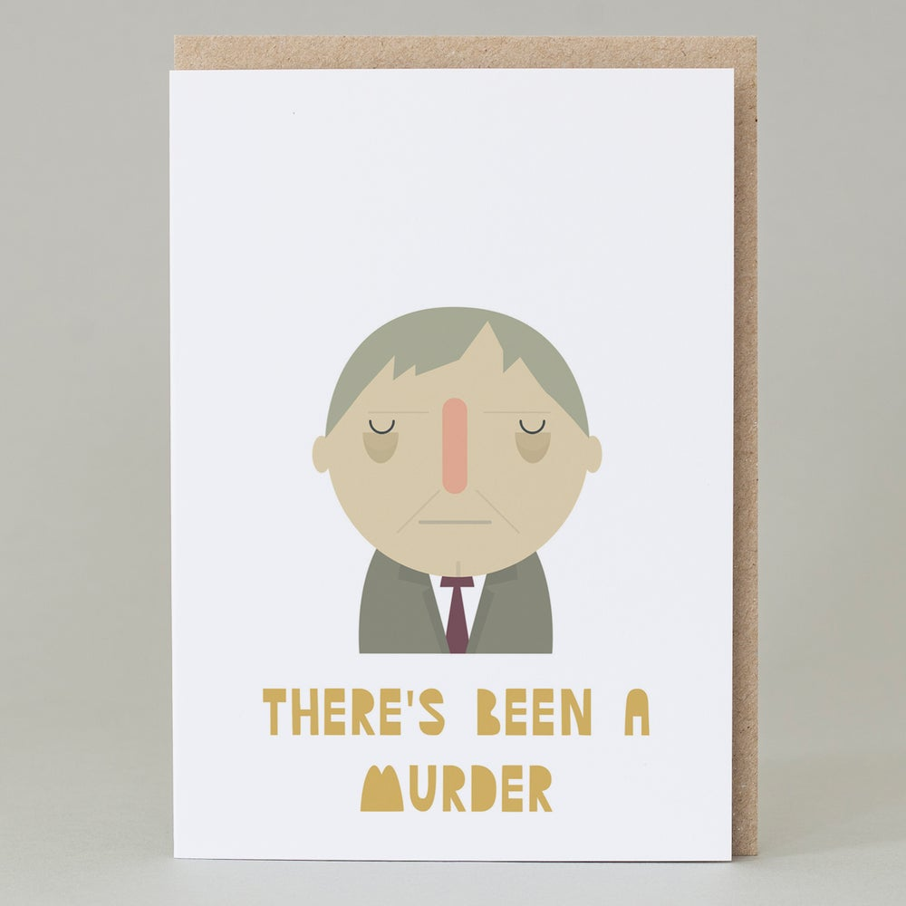 Image of 'There's Been a Murder' (Card)