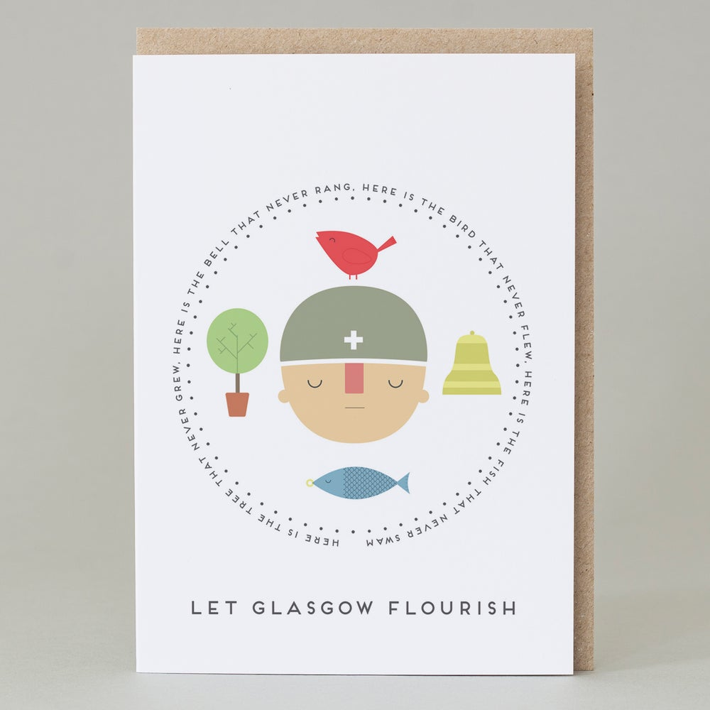 Image of 'Let Glasgow Flourish' Card