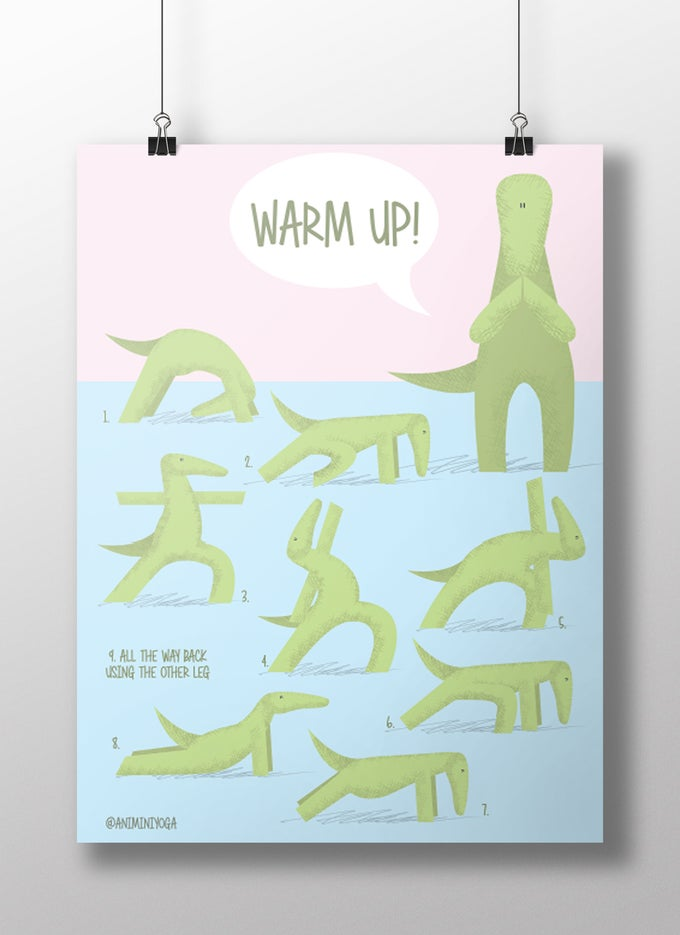 Image of Warm up with Croco