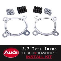 Image of PROJECT:B5 - AUDI 2.7 DOWNPIPE INSTALL KITS