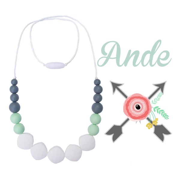 Image of Ande - Silicone Teething & Nursing Necklace
