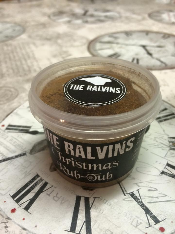 Image of The Ralvins Christmas Rub Tub (60g)