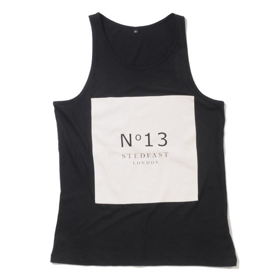 Image of Mens № 13 Black Vest