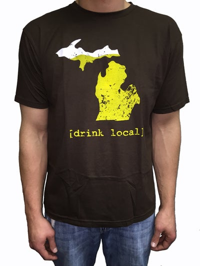 Image of Drink Local MI Unisex Tee