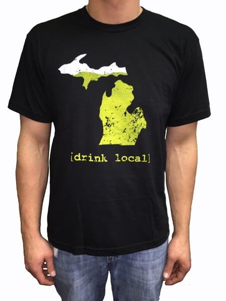 Image of Drink Local MI Unisex Tee