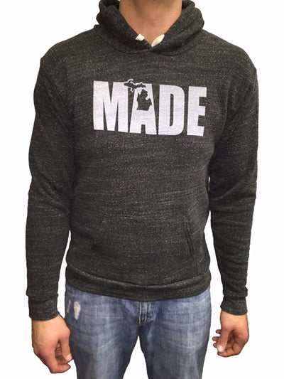 Image of MADE Unisex Hooded Sweatshirt