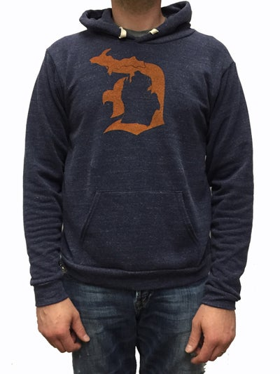 "Image of Original MI ""D"" Unisex Hooded Sweatshirt"