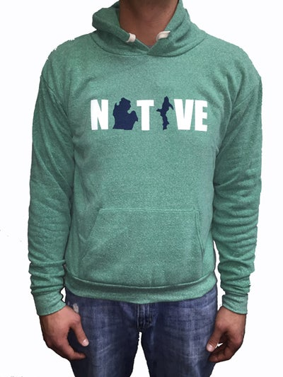 Image of Native 2 Unisex Hooded Sweatshirt