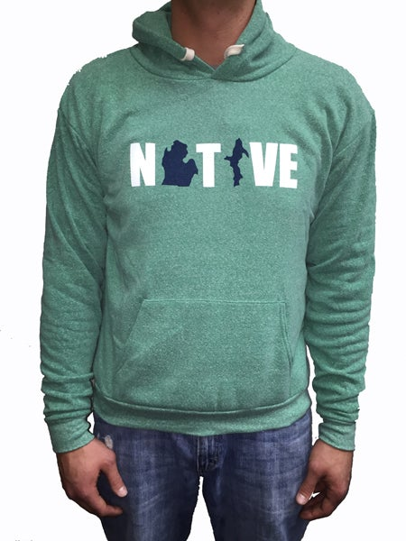 Image of Native 2 Unisex Hooded Sweatshirt