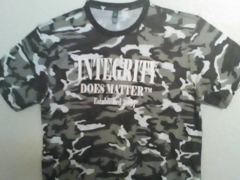 Image of Integrity Does Matter ™ Established 2007 Camo Style