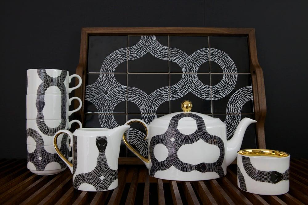 Image of *NEW* Ouroboros complete tea set
