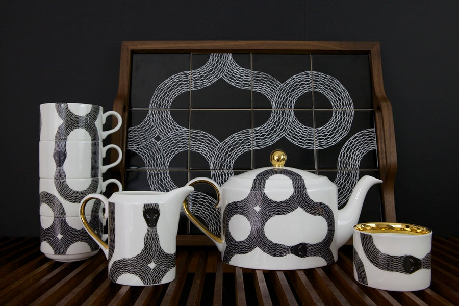 Image of *NEW* Ouroboros complete tea set