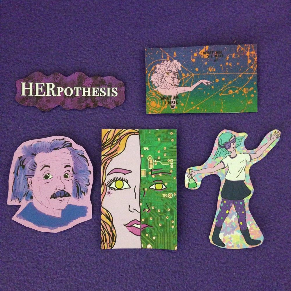 Image of HERpothesis Sticker Pack