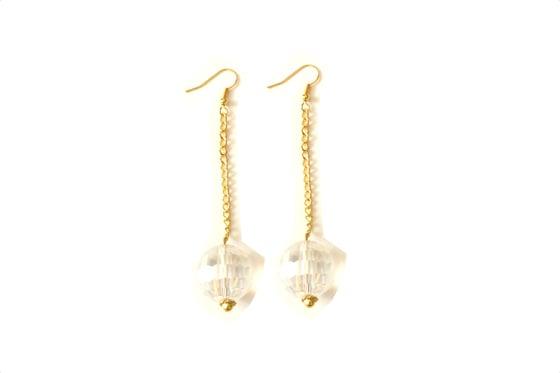 Image of Ball Drop Earrings DIY Kit