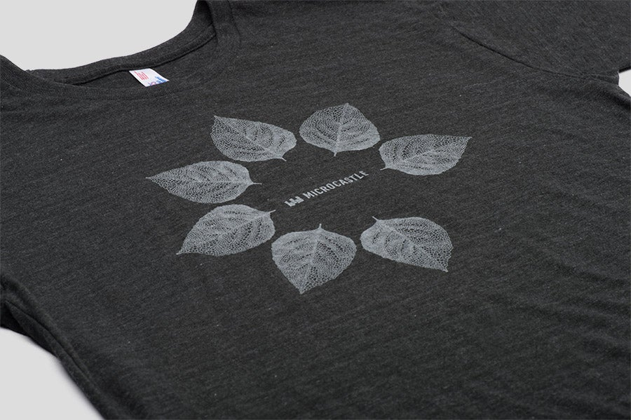 Image of microCastle 'Pollen Spreader' T-Shirt Heather Black