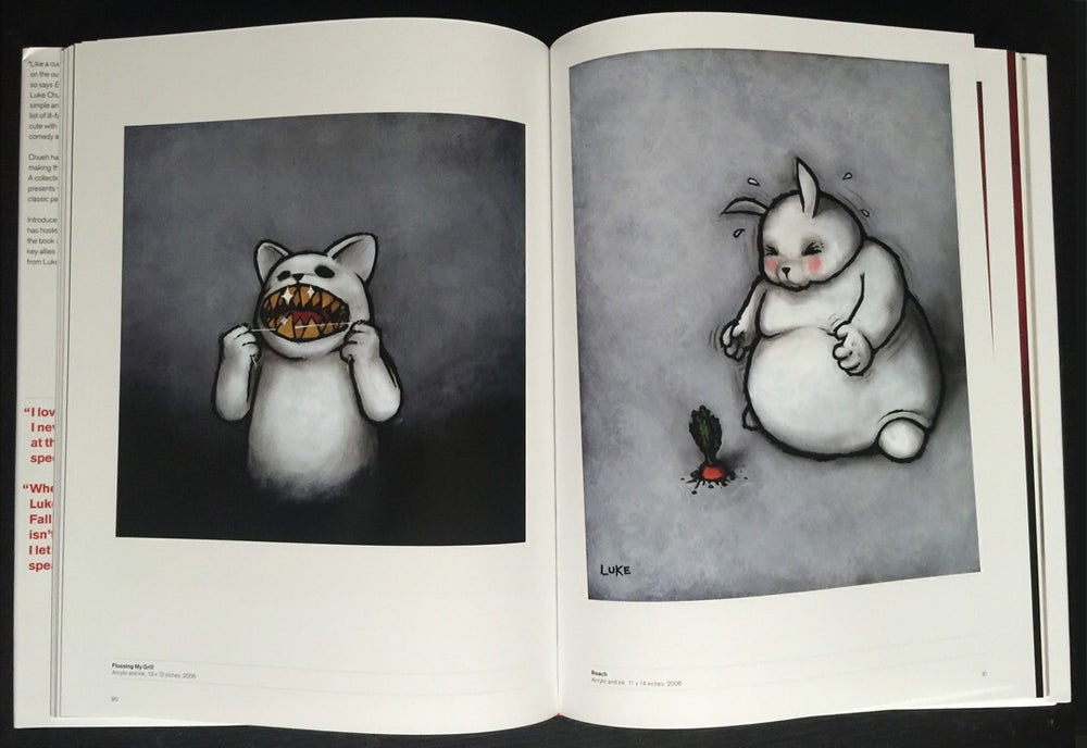 Image of Bearing the Unbearable - The Art of Luke Chueh