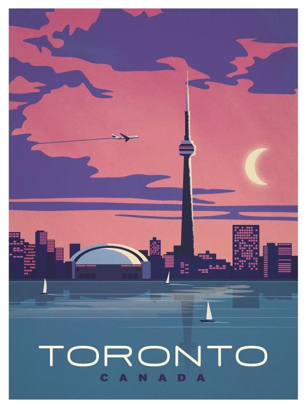 foto de IdeaStorm Studio Store Vintage Toronto Poster