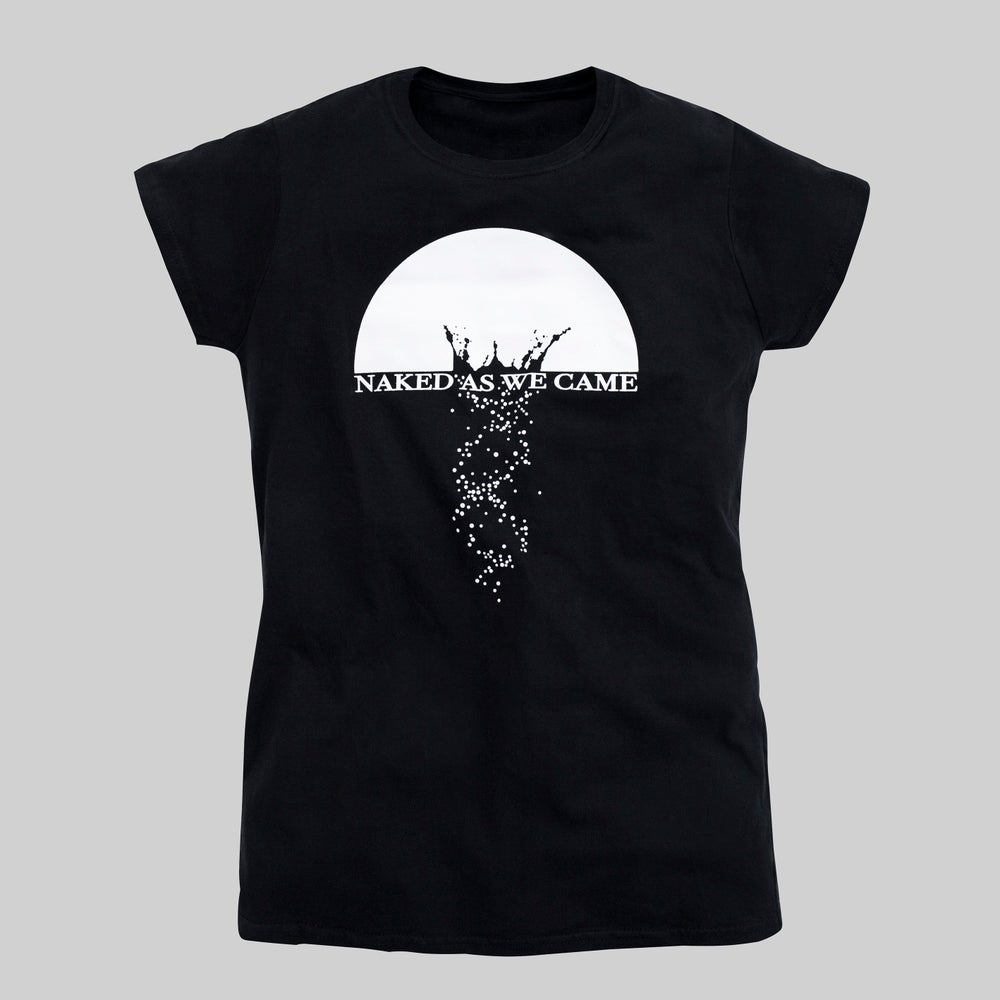 "Image of T-Shirt ""Naked As We Came"" - Black"