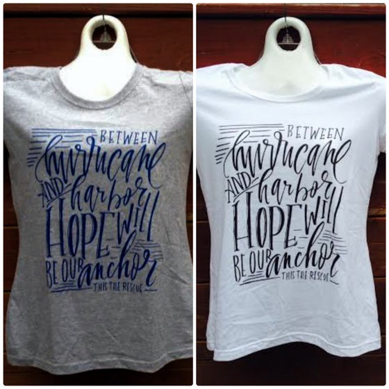 Image of HOPE WILL BE OUR ANCHOR girls shirt CHRISTMAS SALE
