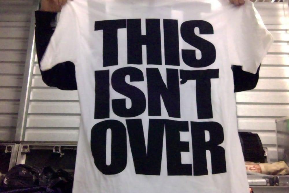 "EMMURE ""THIS ISN'T OVER"" SHIRT XL & XXL"