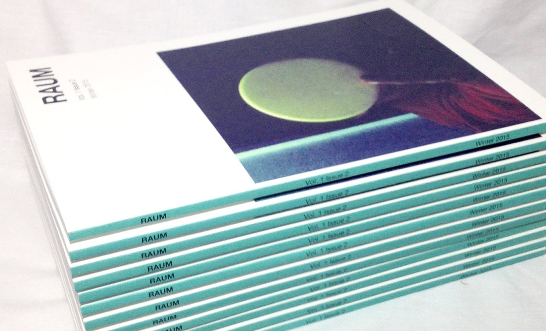 Image of RAUM / Vol 1 Issue 2 / Winter 2015