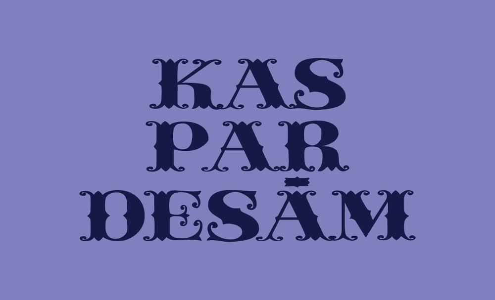 Image of Kas par desām