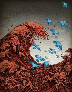 Image of popular print 3: Twitter Tsunami