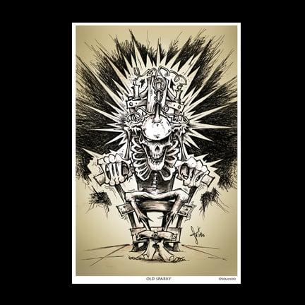 Image of Ol Sparky Art Print