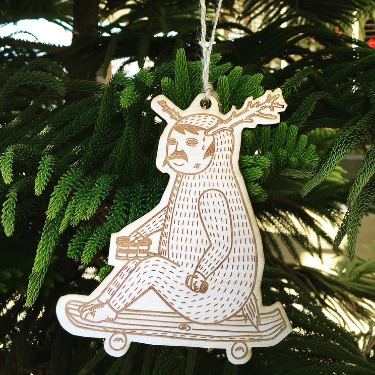 Image of Michael C. Hsiung's Holiday Ornament: Deer Man
