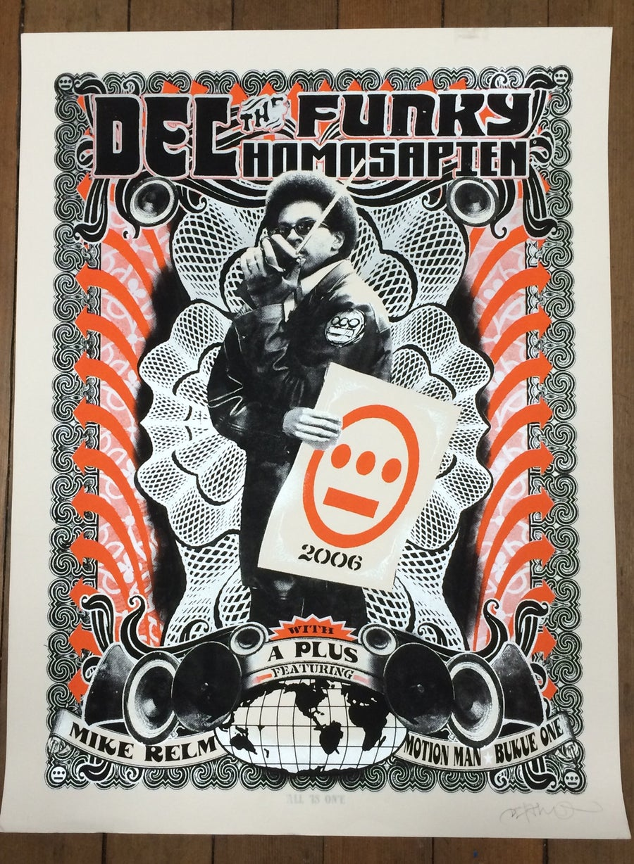 Image of DEL the Funky Homosapien / Mile Relm - 2006 Tour