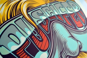 Image of PUSCIFER POSTER - CHICAGO 2015