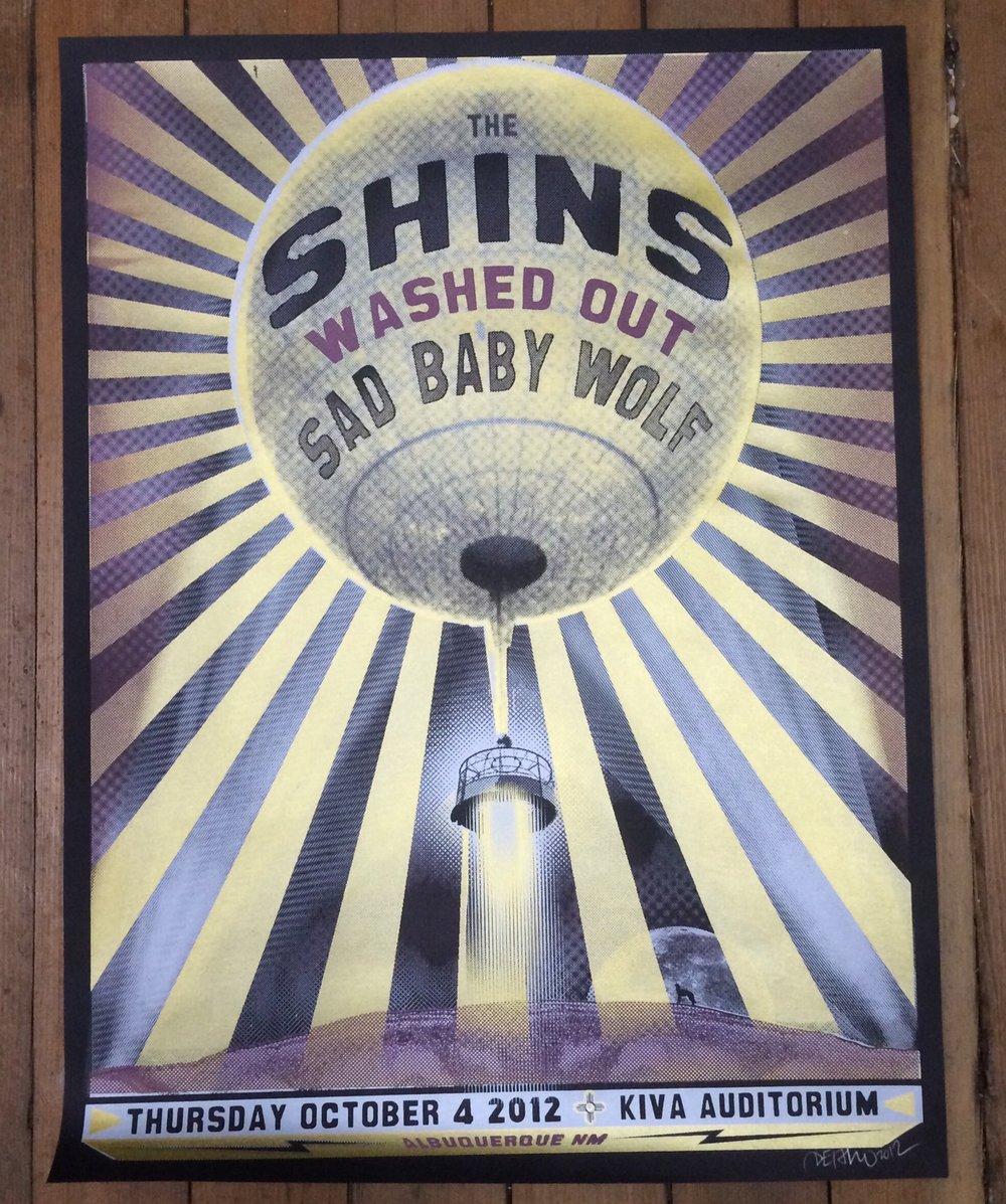 Image of The Shins / Washed Out - 10/04/12 - Kiva Auditorium