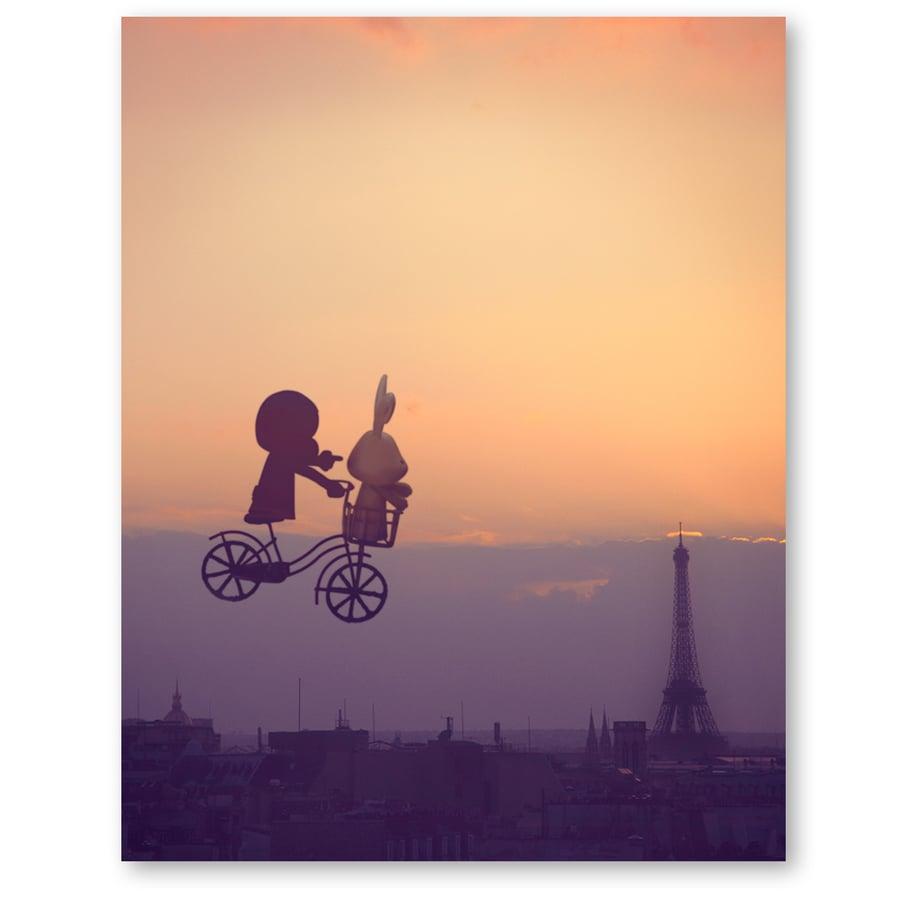 Image of Biking in Paris