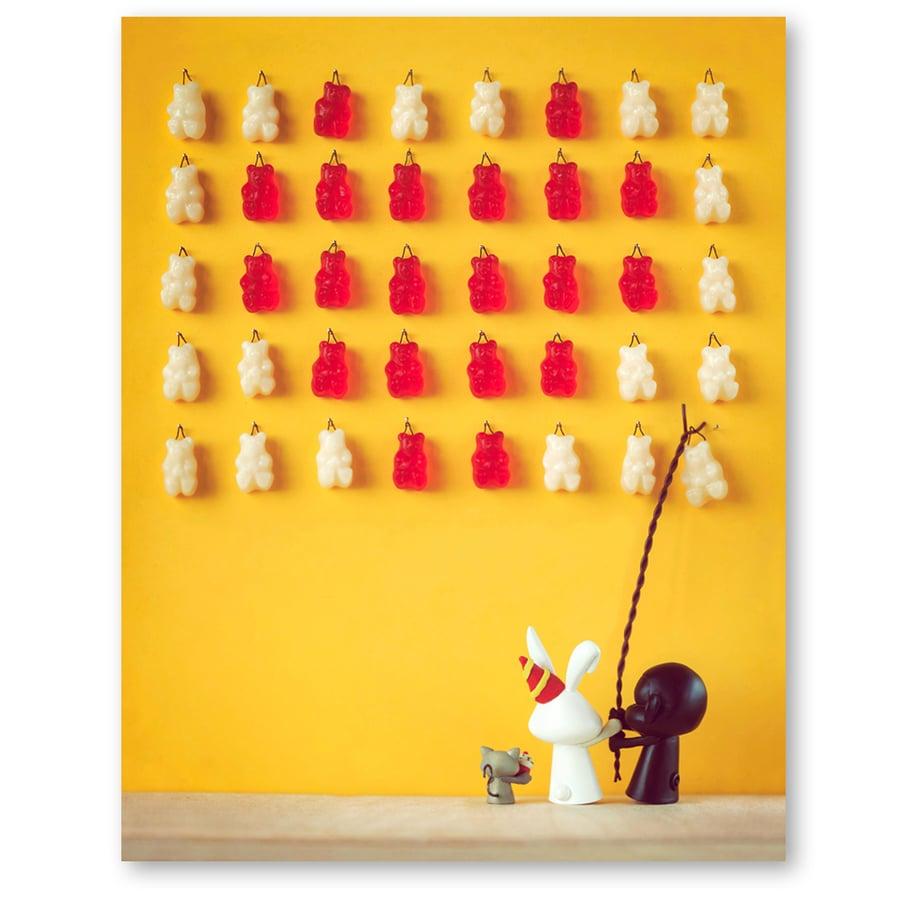 Image of We heart gummy bears!