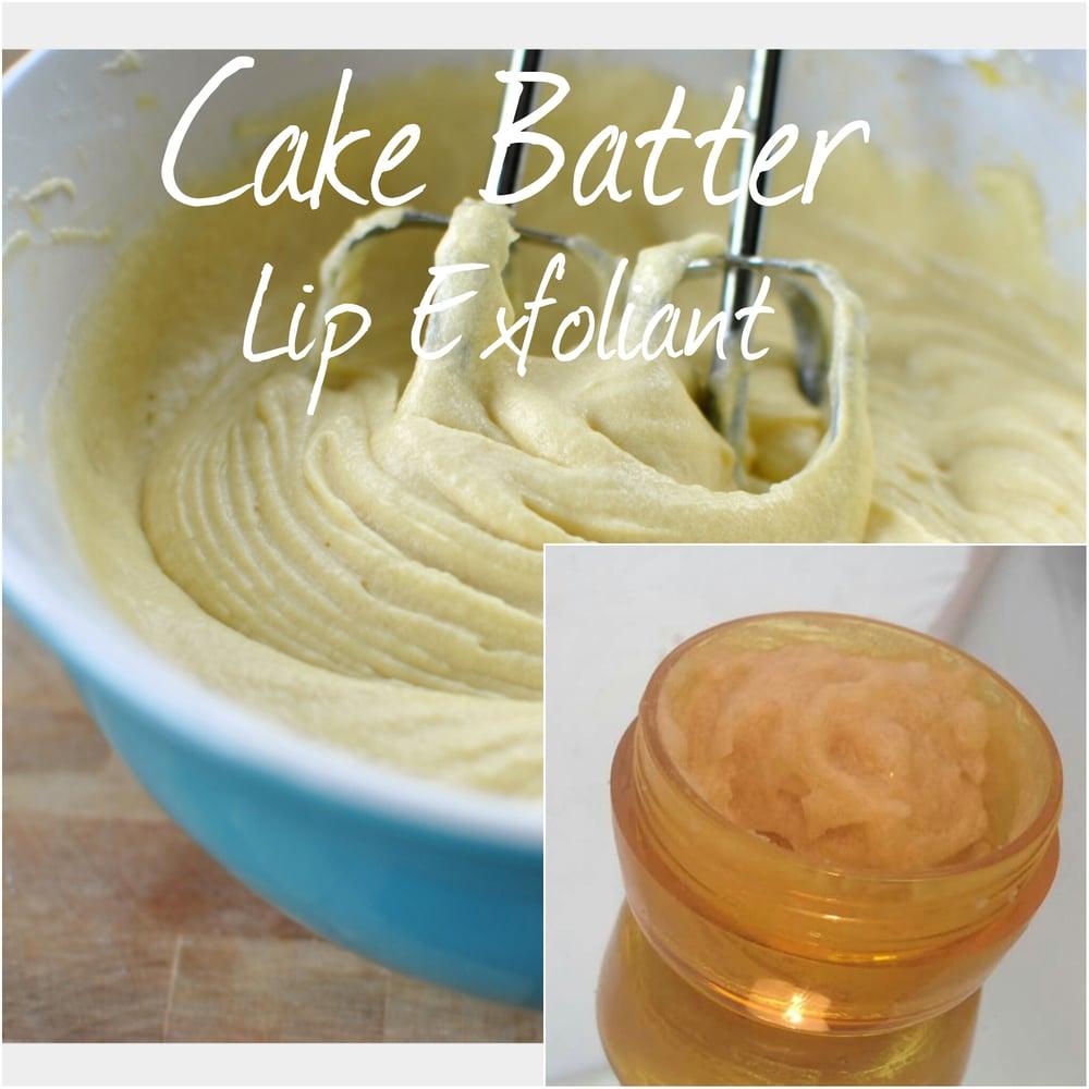 Image of Cake Batter Lip Exfoliator