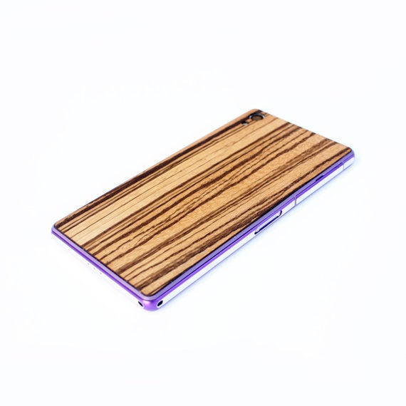 Image of TIMBER Sony Xperia Z2 Natural Wood Skin Back – Free Shipping United States Orders