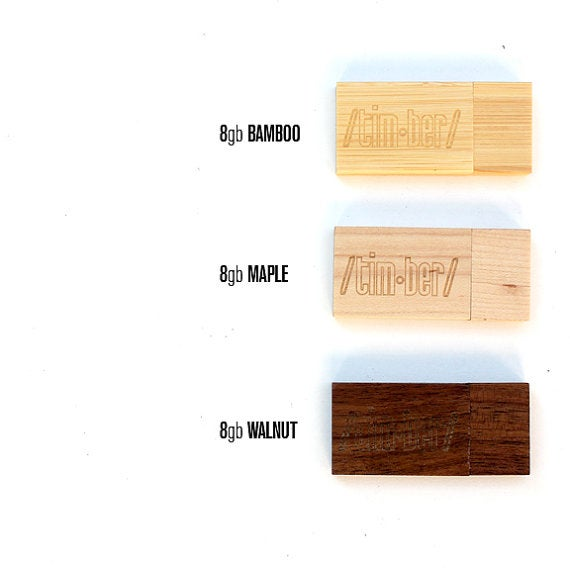 Image of TIMBER Custom Wood 8gb USB - Free US Shipping