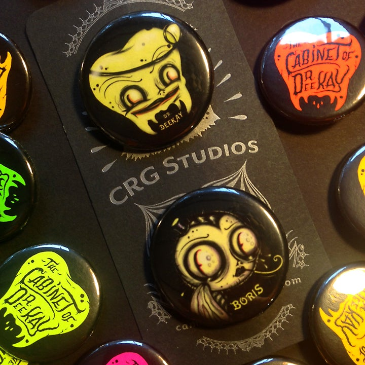Image of Dr. Deekay Glowy Button set