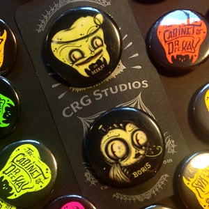 Image of Dr. Deekay Glowy Button set