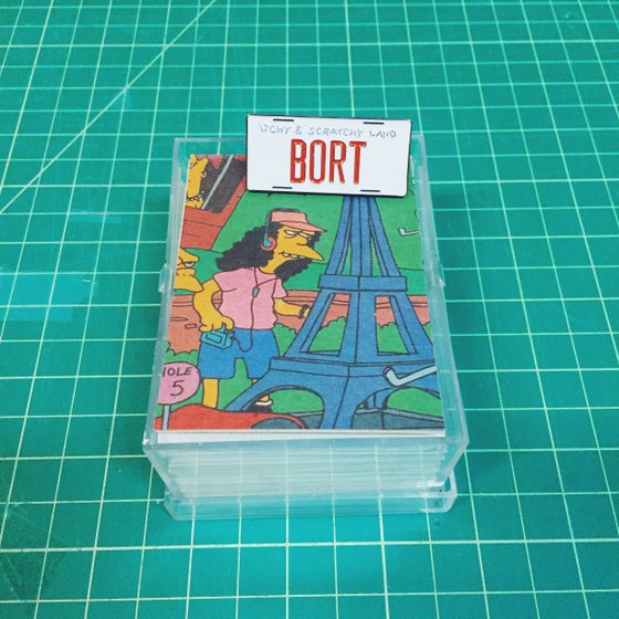 Image of Simpsons BORT Enamel Pin