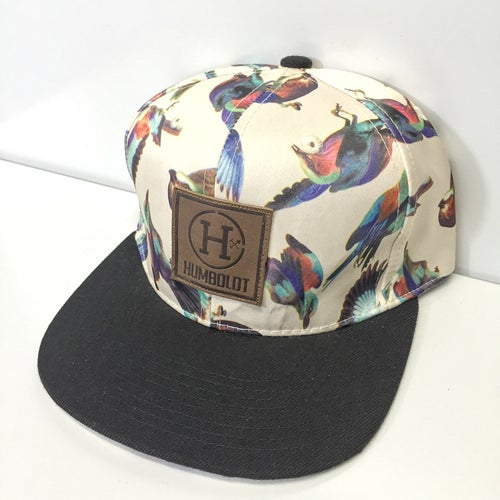 """Image of """"The Aviary"""" Printed Snapback Hat - 2 Styles"""