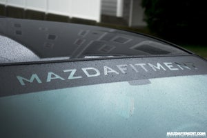 Image of Mazda Fitment Universal Windshield Banner