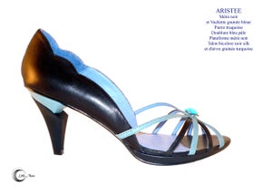 Image of ARISTEE Noir Turquoise