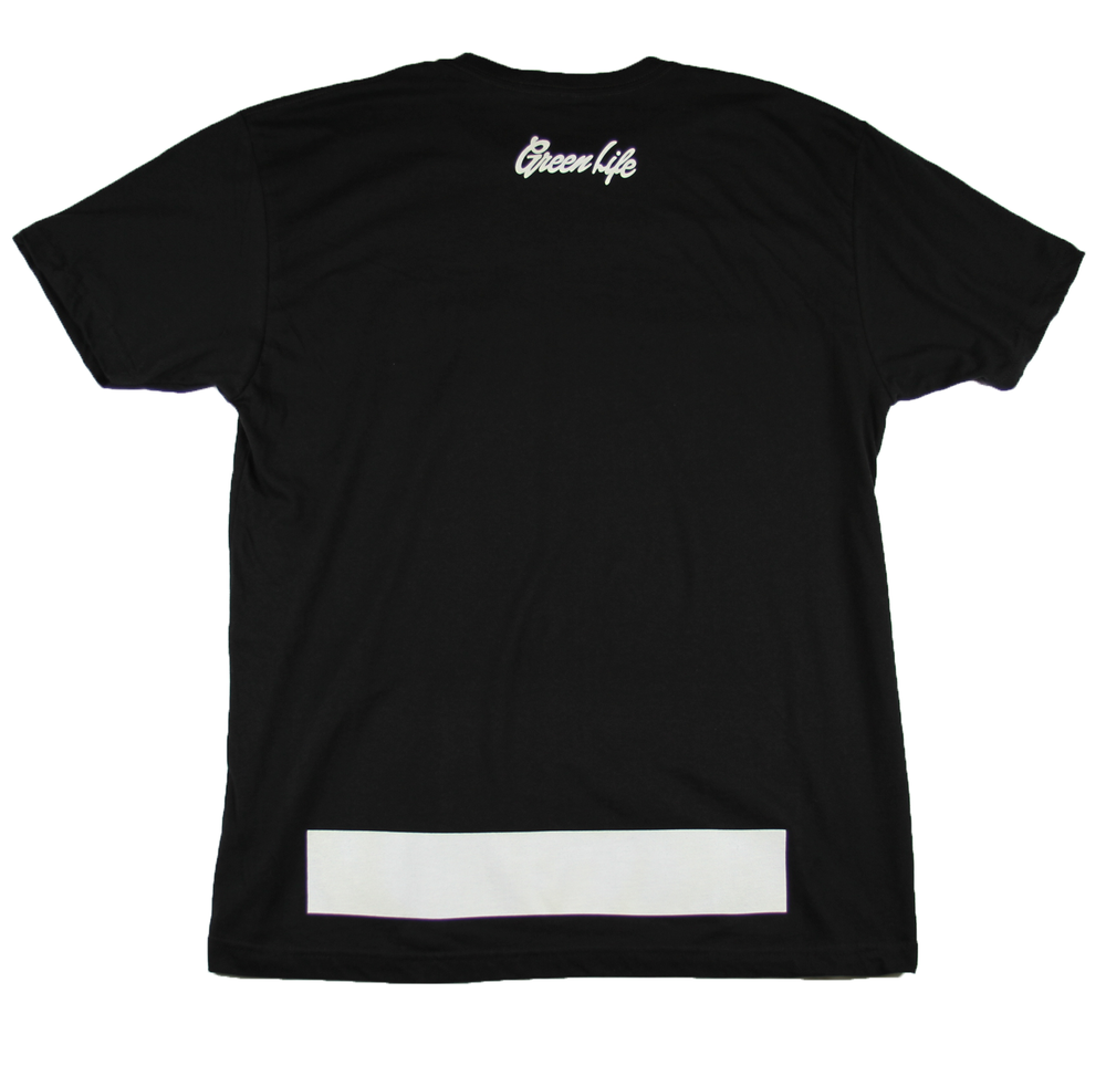 Image of The G Leaf Tee in Black