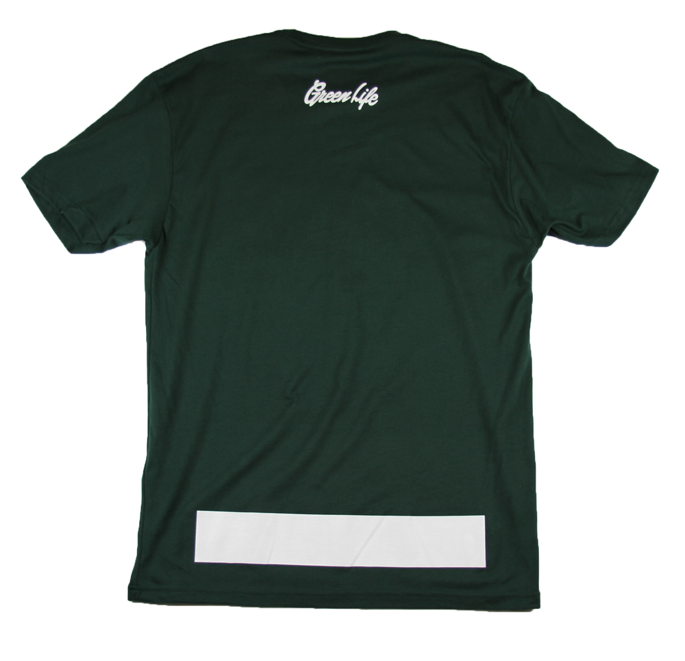 Image of The G Leaf Tee in Forest Green