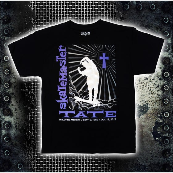 Image of Skate Master Tate Black T-Shirt