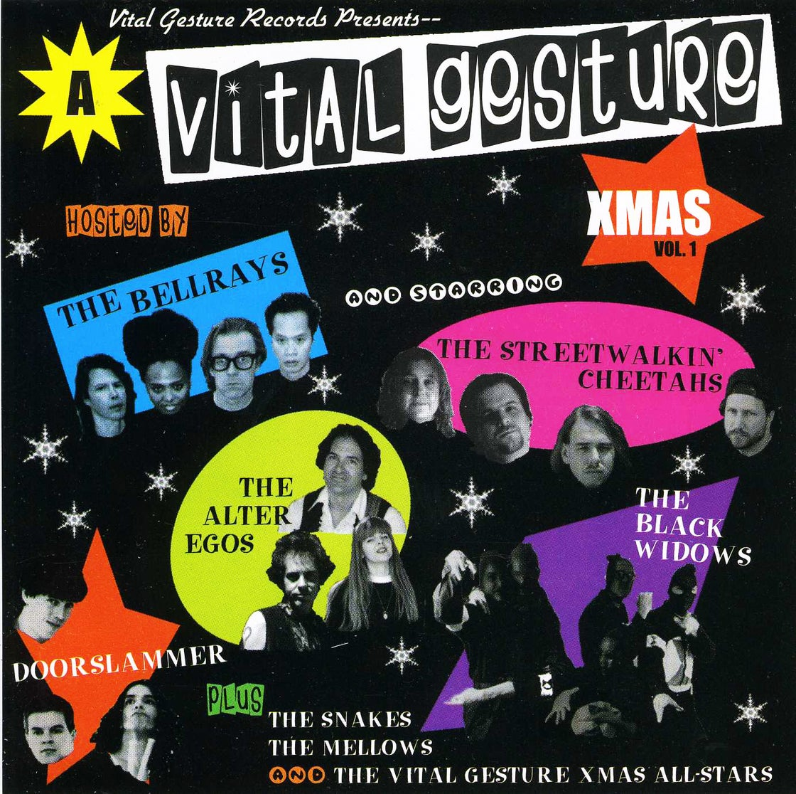 Image of The BellRays Merry Xmas CD Special!